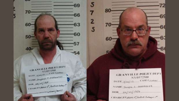 Police: Two arrested for Granville apartment building fire