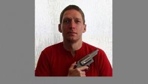 Blind NRA member.