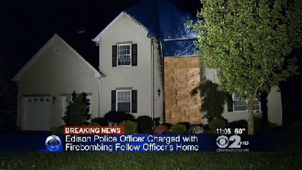 New Jersey Cop Arrested for Allegedly Firebombing His Captain's Home
