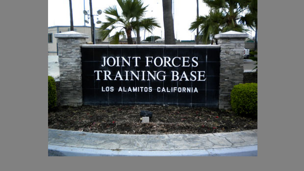 Murphy served as the commanding officer of the Joint Forces Training Base in Los Alamitos.