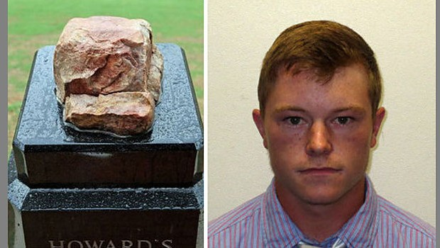 Clemson makes arrest in Howard's Rock vandalism case