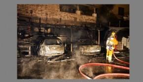 Arson fire